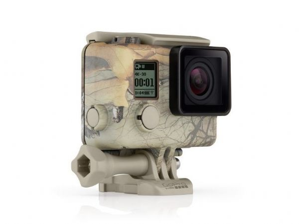 GoPro Camo Housing + QuickClip Realtree MAX-5